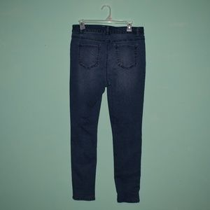 Cute High Waisted Jeans Size 14